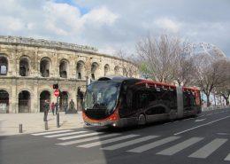 Prestations pour le tram'bus à Nîmes